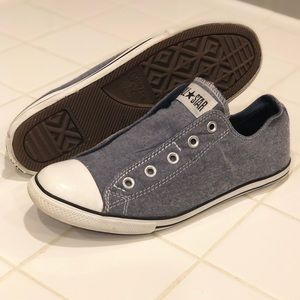 Converse All Star Denim Slip On Unisex Sneakers
